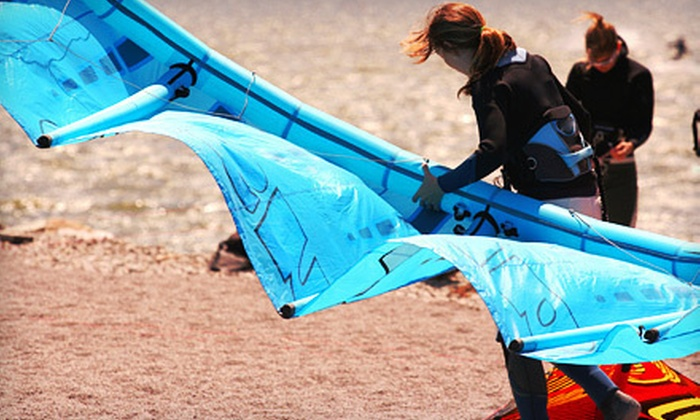 Wind Addict - Northeast Coconut Grove: $45 for a 90-Minute Kiteboarding Ground Lesson at Wind Addict ($120 Value)