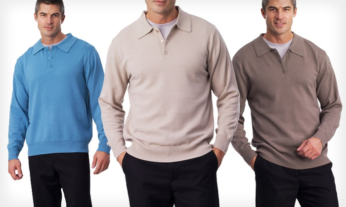Men's Providence Wool Sweaters: $9.99 for a Men's Providence Wool Sweater in Sizes S–3XL ($19.99 List Price). 3 Colours Available.