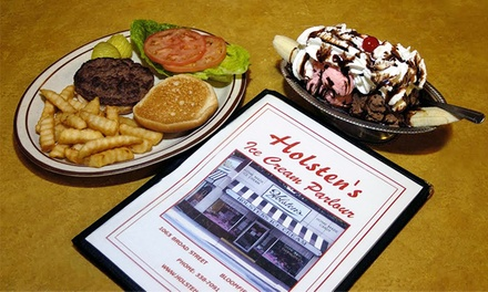 Classic Diner Food and Homemade Ice Cream at Holsten's (Up to 50% Off)