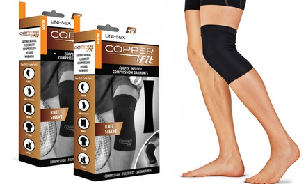 As Seen on TV Copper Fit Copper-Infused Knee Sleeve (2-Pack)