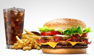BURGER KING®: $85 en vez de $142 por combo Whopper® Extreme™ regular en BURGER KING®