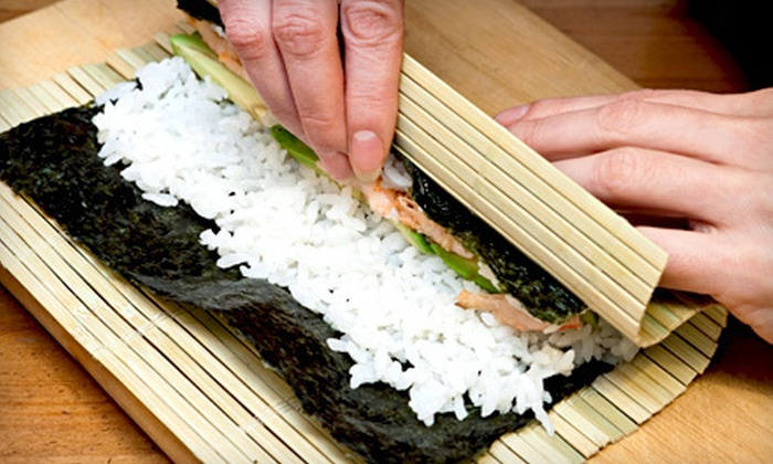 I Wish Lessons - Multiple Locations: Just Roll It Sushi-Making Class for One, Two, or Four from I Wish Lessons (Up to 59% Off)