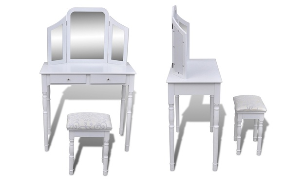 Dressing table groupon goods - Mobile per trucco ...
