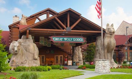 Stay with Daily Water Park Passes and Resort Credit at Great Wolf Lodge Williamsburg in Virginia. Dates into July.