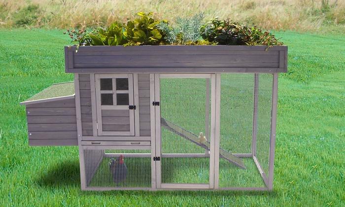 Co Op Garden Furniture Garden hen house chicken coop groupon goods garden hen house chicken coop garden hen house chicken coop workwithnaturefo