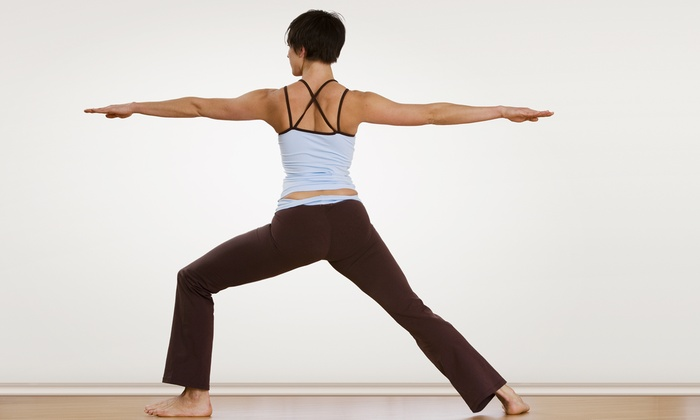 Taylor Yoga - Taylor: 5 or 10 Drop-In Yoga, Pilates, or Meditation Classes Plus a Yoga DVD at Taylor Yoga (Up to 67% Off)