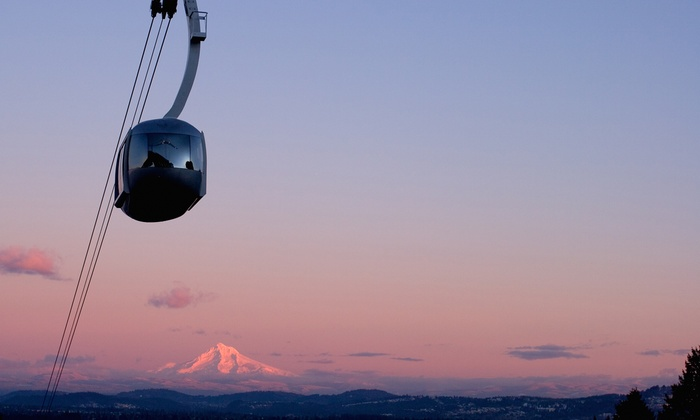 Portland Aerial Tram - Corbet - Terwilliger - Lair Hill: $4 for Round-Trip Ride for Two on the Portland Aerial Tram ($8 Value)