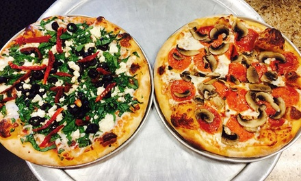 Pizza for Two or More or Four or More or Delivery or Takeout at Riverboat Pizza Company (Up to 57% Off)