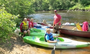 EC Adventures: Kayaking Trip, Kayak Rental with Geocaching, or Two-Day Rental for Two by EC Adventures (Up to 51% Off)