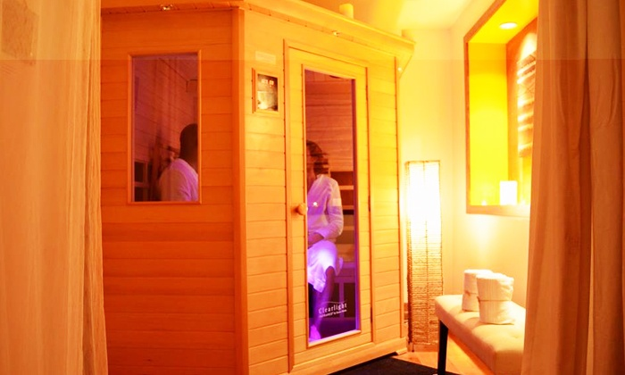 City Sweats - Seattle: One, Three, or Five Infrared Sauna or Lymphatic Drainage Sessions at City Sweats (Up to 44% Off)