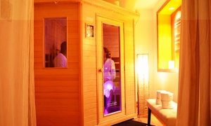 City Sweats: One, Three, or Five Infrared Sauna or Lymphatic Drainage Sessions at City Sweats (Up to 44% Off)