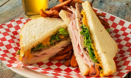 Pub Food at The Checkerboard Bar (Up to 44% Off). Two Options Available.