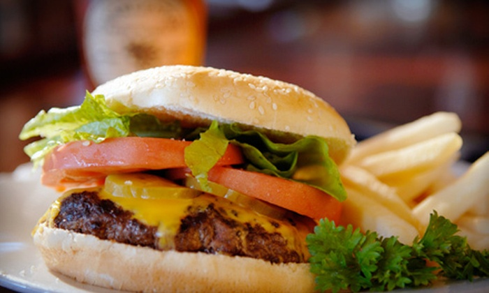 Bootlegger's on Broadway - Troy: Specialty Burgers or Sandwiches with Beer or Wine for Two or Four at Bootlegger's on Broadway (Up to 54% Off)