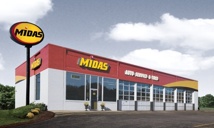 Two Conventional or Synthetic Oil Changes with Tire Rotations and Inspections at Midas San Rafael (Up to 76% Off)