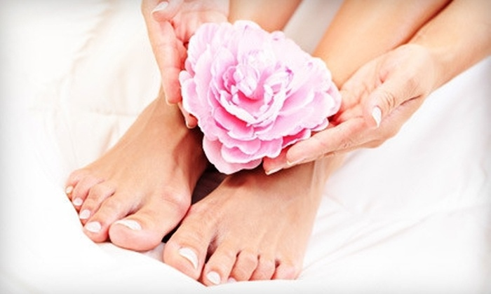Royal Treatment Day Spa Salon - Collegedale: Spa Mani-Pedi or a Shellac Manicure and Spa Pedicure at Royal Treatment Day Spa Salon (58% Off)