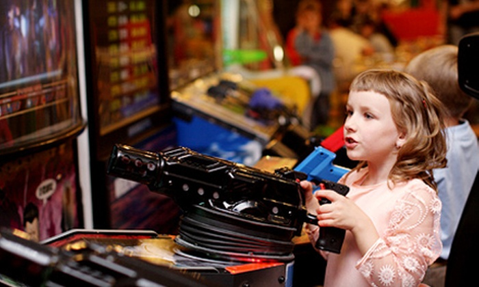 Bev & Wally's Family Fun Center and The Game Room - Multiple Locations: Arcade Tokens and Points at Bev & Wally's Family Fun Center and The Game Room (Up to 62% Off). Two Options Available