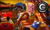 OOB Jambo! Amusement Park - Multiple Locations: $16 for Indoor Amusement-Park Outing for Two with Popcorn at Jambo! Park in Mesa or Phoenix (Up to $34.38 Value)