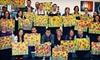 Glazed Expressions - Clive: Adult BYOB Canvas-Painting Session for One or Two at Glazed Expressions (Up to 55% Off)