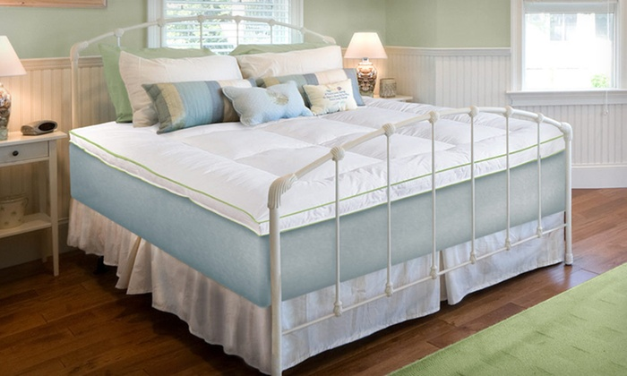 SensorPedic Mattress Toppers: SensorPedic Memory Loft Foam and Fiber Mattress Topper in Twin, Full, Queen, or King (Up to 65% Off). Free Shipping.