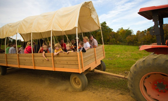 Oakes Farm - 8: $10 for Corn Maze, Hayride, and Outdoor Activities for Two at Oakes Farm (Up to $20 Value)