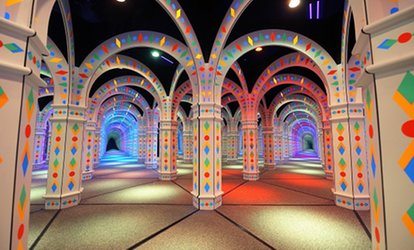 image for Mirror-Maze Adventure for Two, Four, or Six, or Party Package for 12 at Amazing Mirror Maze (Up to 44% Off)
