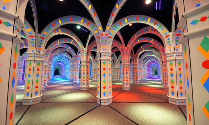Amazing Mirror Maze - Mall of America: Mirror-Maze Adventure for Two, Four, or Six, or Party Package for 12 at Amazing Mirror Maze (Up to 44% Off)