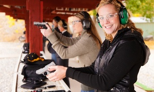 Merrimack Firearms: NRA FIRST Steps Pistol Orientation or Basic Pistol Shooting Course at Merrimack Firearms (Up to 41% Off)