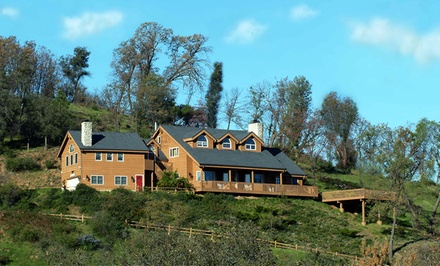 1-Night Stay for Two in a Queen Room at Tucker Peak Lodge in Julian, CA. Combine Up to 2 Nights.