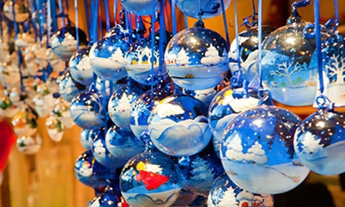 Harbor Holiday Festival - Fort Washington: $15 for the Harbor Holiday Festival for a Family, Including Hot Chocolate and Libations Tasting Flights ($29.99 Value)