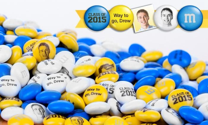 MyMMs.com: Personalized M&M'S from MyMMs.com (50% Off). Two Options Available.