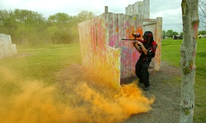 Official Paintball Games of Texas: Paintball for One, Two, Four, or Six at Official Paintball Games of Texas (Up to 47% Off)