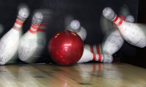 Verdes Tropicana Bowling Lanes: $24.99 for Bowling for Up to Six with Shoe Rental at Verdes Tropicana Bowl (Up to $58 Value)