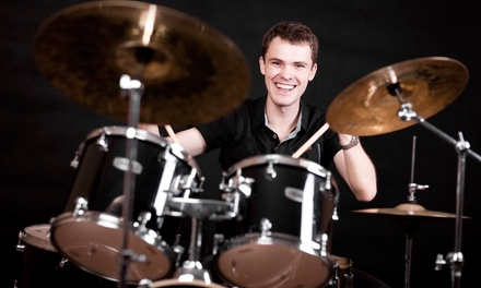 Three Private Music Lessons from Drumopedia Drum Lessons (45% Off)