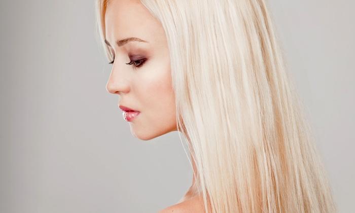"Salon La ""T"" Da - Poplar Grove: Haircut and Conditioning Treatment with Option for Full Highlights at Salon La ""T"" Da (Up to 65% Off)"