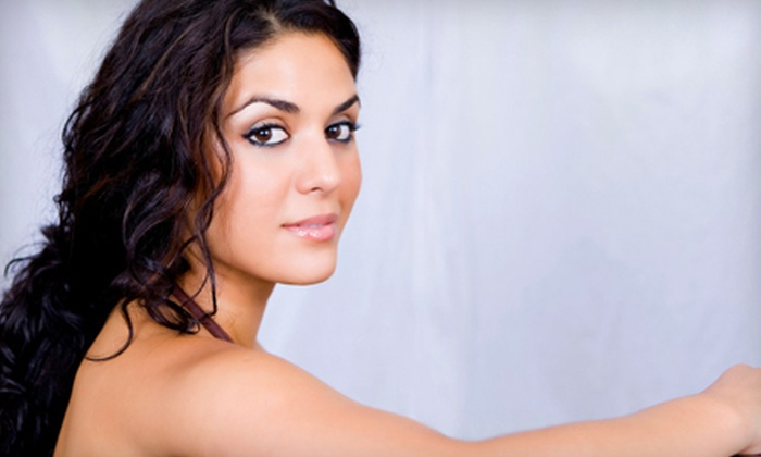 Today's Salon & Spa - Auburn Hills: $45 for a Hairstyling Package with Cut, Style, Partial Highlights, and Moroccan Oil at Today's Salon & Spa ($90 Value)