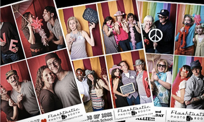 Flashtastic Photo Booth - Franklin: Two-, Three-, or Four-Hour Photo-Booth Rental from Flashtastic Photo Booth