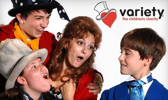 "Variety the Children's Charity - St Louis: $12 for One Ticket to ""Oliver!"" at the Touhill Performing Arts Center, Presented by the Variety Children's Theatre ($25 Value). Two Dates Available."