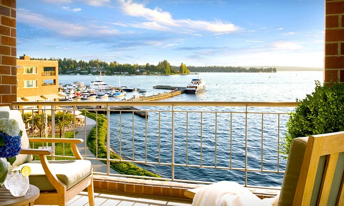 Woodmark Hotel - Lakeview: One-Night Stay for Up to Four in a Classic Room at the Woodmark Hotel in Greater Seattle