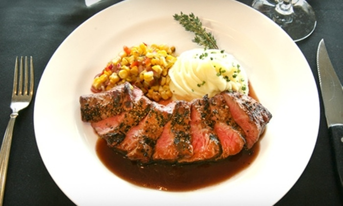 Lasher's - Long Beach: $25 for $50 Worth of Steaks, Seafood, and More at Lasher's in Long Beach