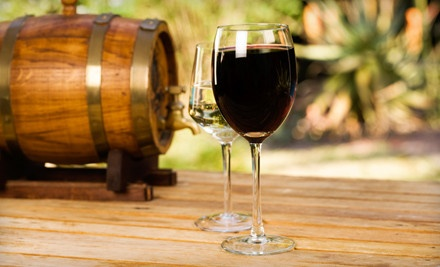 Winery Package for 2 Including 2 Tastings, 2 Wineglasses, and 1 Bottle of Wine  - Kreutz Creek Vineyards in West Grove