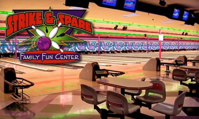 Strike and Spare - Multiple Locations: $5 for Two Games of Bowling and Shoe Rental at Strike and Spare (Up to $12.50 Value). Choose From Five Locations.