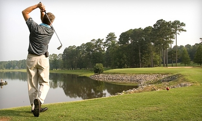 Hickory Knob State Resort Park Golf Course - Mount Carmel: $30 for 18 Holes of Golf for Two People Plus Cart Rental at Hickory Knob State Resort Park Golf Course in McCormick