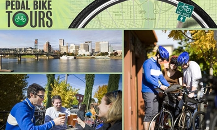 Pedal Bike Tours - Eliot: $40 Wine Country Bike Tour with Pedal Bike Tours ($89 Value)