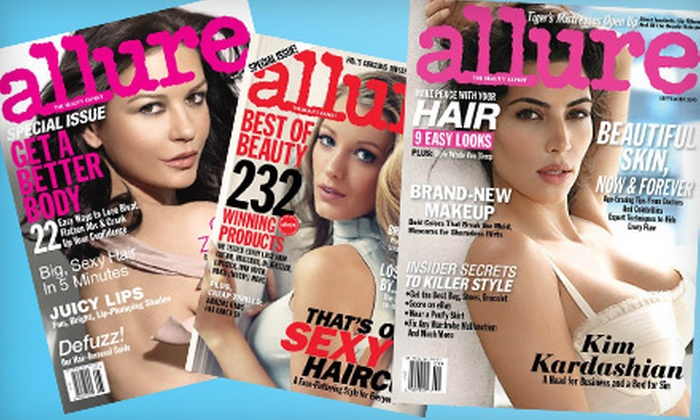 """Condé Nast Beauty and Fashion Magazines: $10 for a One-Year Subscription to """"Allure"""" Magazine ($20 Value)"""