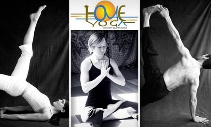 Home Yoga & Wellness - Lower Queen Anne: $30 for a Month of Unlimited Yoga Classes at Home Yoga ($75 Value)