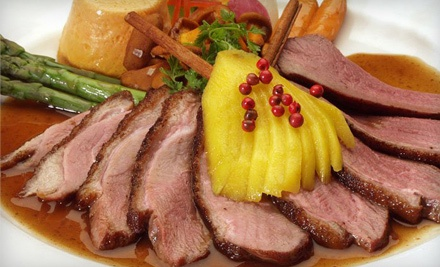 $60 Groupon for Dinner, Valid 5PM-10PM Monday Through Saturday - Cacharel Restaurant & Grand Ballroom in Arlington