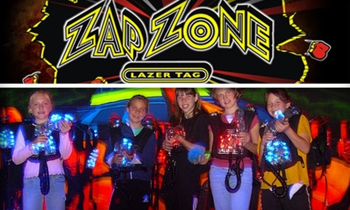 Zap Zone - Multiple Locations: $8 for Three Games of Laser Tag at Zap Zone ($16 Value)