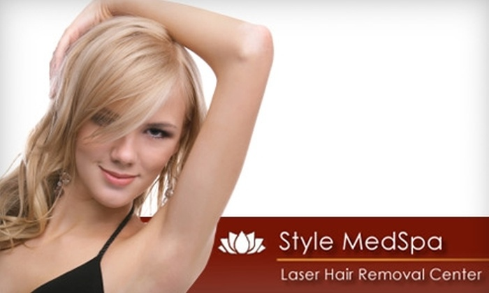 Laser Hair Removal Center - Multiple Locations: $99 for Three Laser Hair-Removal Treatments at Laser Hair Removal Center ($750 Value)