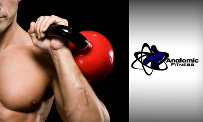 Anatomic Fitness - Multiple Locations: Boot Camps or Personal Training Sessions from Anatomic Fitness. Choose From Three Options.