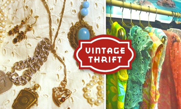 The Vintage Thrift Shop - Gramercy Park: $15 for $30 Worth of Thrift Goods Plus Free Admission to April 22 Dress Event Gala at Vintage Thrift Shop